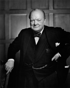 Winston Churchill . Woodstock , 1874 - Londra , 1965