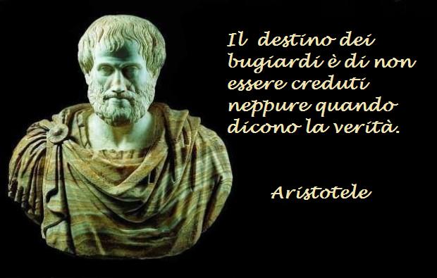 Aristotele e Bugiardi