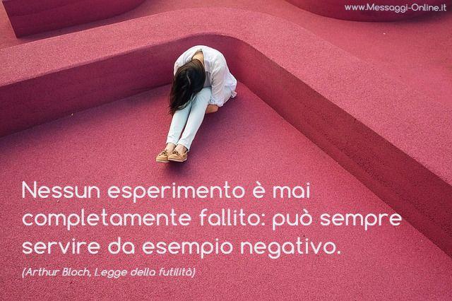 Esperimento Negativo