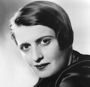 Ayn Rand . San Pietroburgo , 1905 - New York , 1982