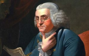 Benjamin Franklin. Boston , 1706 - Filadelfia , 1790