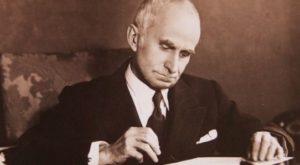 Luigi Einaudi . Carrù, 1874 - Roma , 1961.