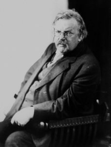 Gilbert K. Chesterton . Londra , 1874 - Beaconsfield , 1936