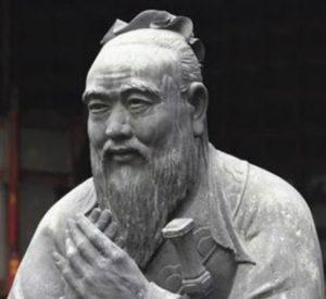 Laozi , filosofo cinesi vissuto tra il VI e il V secolo A.C.