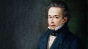 Giacomo Leopardi. Nato a Recanati il 29 giugno 1798 , morto a Napoli 14 giugno 1837
