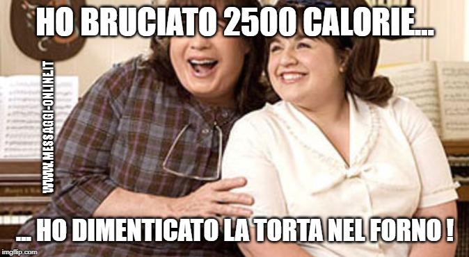 Ho bruciato 2500 calorie... ho dimenticato la torta nel forno !