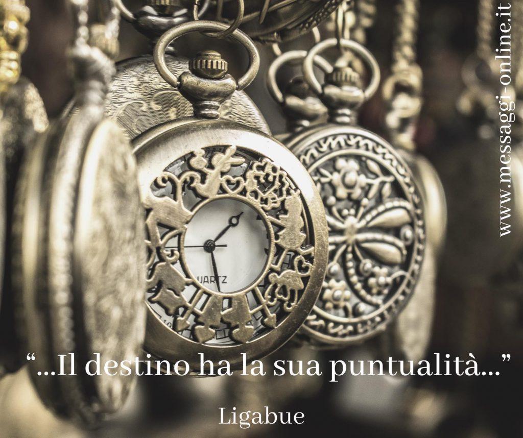 """Ligabue: """"...Il destino ha la sua puntualità..."""""""